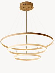 preiswerte -Oulm 3-Licht Kreisförmig Kronleuchter Raumbeleuchtung - Neues Design, Kreativ, 110-120V / 220-240V, Wärm Weiß / Dimmbar mit Fernbedienung, LED-Lichtquelle enthalten