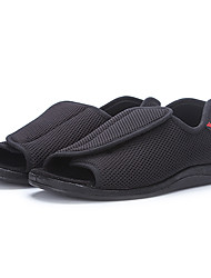 cheap -Men's Shoes Mesh Summer Comfort Sandals Black
