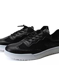 povoljno -Muškarci Cipele Mrežica Ljeto Udobne cipele Sneakers Obala / Crn