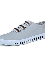 povoljno -Muškarci Cipele Platno Proljeće / Jesen Udobne cipele Sneakers Obala / Crn / Sive boje