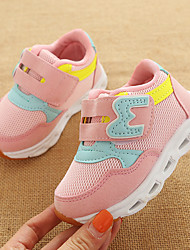 abordables -Fille Chaussures Polyuréthane Printemps été Confort Chaussures d'Athlétisme Marche LED pour Enfants Gris / Bleu / Rose