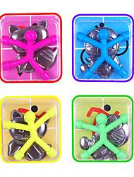 Недорогие -10 pcs Магнитные игрушки Мини-магнит Q-Man Резиновый человечек на магните Конструкторы Силикон Магнитный Детские Мальчики Девочки Игрушки Подарок