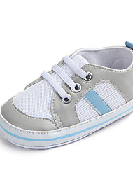 cheap -Boys' Shoes Mesh Spring / Fall First Walkers Sneakers for Baby Black / Light Blue