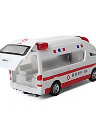 Недорогие -Игрушечные машинки Машина скорой помощи Транспорт Вид на город / Cool / утонченный Металл Все Для подростков Подарок 1 pcs
