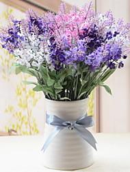 cheap -Artificial Flowers 1 Branch Pattern Modern / Contemporary / Simple Style Lavender / Eternal Flower Tabletop Flower