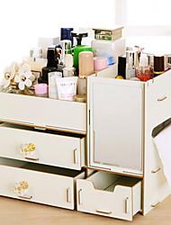 preiswerte -Holz Rechteck Neues Design / Cool Zuhause Organisation, 1pc Werkzeugordner / Schmuck Aufbewahrung / Make Up Aufbewahrung