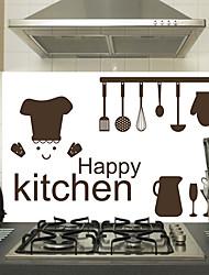 Недорогие -Декоративные наклейки на стены - Простые наклейки Геометрия Кухня / Столовая