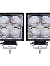 abordables -2pcs Coche Bombillas 20 W LED Integrado 2000 lm 4 LED las luces exteriores For Universal 2018