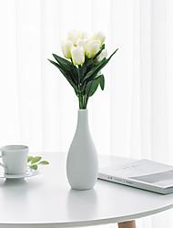 Недорогие -Искусственные Цветы 1 Филиал Классический Современный современный Пастораль Стиль Тюльпаны Букеты на стол