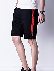 economico -Per uomo Attivo Chino / Pantaloni della tuta Pantaloni - Tinta unita