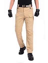 baratos -Homens Calças de Trilha Ao ar livre Secagem Rápida, Respirabilidade, SPF35 Calças Equitação / Exercicio Exterior