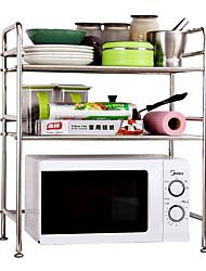 baratos -Utensílios de cozinha Aço Inoxidável / Ferro Simples / Dobrável Suporte Uso Diário / Para utensílios de cozinha 1pç