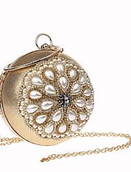preiswerte -Damen Taschen Acryl / Aleación Abendtasche Perlen Verzierung Schwarz / Rote / Silber