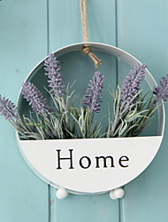 cheap -Artificial Flowers 1 Branch Classic Modern / Contemporary / Simple Style Lavender Wall Flower