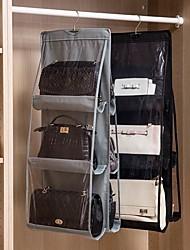 Недорогие -ПВХ / Нетканый материал Прямоугольная Творчество / Новый дизайн Главная организация, 1 комплект Единицы хранения / Организация одежды