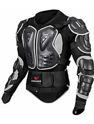 baratos -WOSAWE Equipamento de proteção de motocicletaforJaqueta Todos Tecido de Rede / EVA Antichoque / Proteção / Vestir fácil