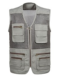 cheap -Men's Sports Cotton Vest - Solid Colored / Sleeveless