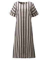 billige -Dame I-byen-tøj Løstsiddende Skift Kjole Maxi
