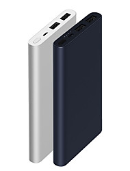 cheap -Xiaomi Original New 10000mAh Power Bank Portable / Durable / with Quick Charge 3.0 Black / Silver