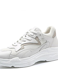 Недорогие -Муж. Сетка / Полиуретан Весна & осень Удобная обувь Спортивная обувь Беговая обувь Белый