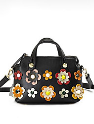 cheap -Women's Bags PU(Polyurethane) Tote Zipper Blue / Black