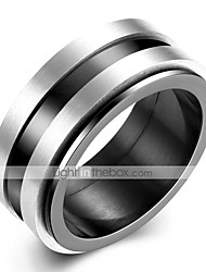 economico -Per uomo Vintage Band Ring - Inossidabile Creativo Originale, Vintage 8 / 9 Argento Per Quotidiano / Ufficio