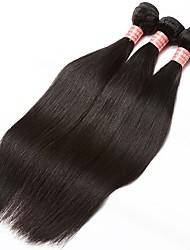 economico -3 pacchetti Brasiliano Diritto naturale Cappelli veri Un pacchetto di soluzioni / Trama 10-28 pollice Tessiture capelli umani Estensioni dei capelli umani Tutti