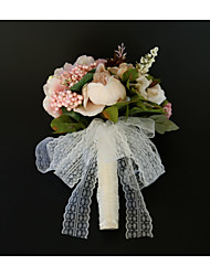 economico -Bouquet sposa Bouquet / Decorazioni Matrimonio / Ricevimento di matrimonio Pizzo / Poliestere / Germoglio 11-20 cm