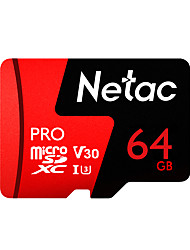 abordables -Netac 64Go TF carte Micro SD Card carte mémoire UHS-I U3 / V30 64