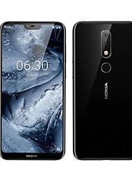 "abordables -NOKIA nokia X6 5.8 pouce "" Smartphone 4G (4GB + 64GB 5 mp / 16 mp Muflier 636 3060 mAh mAh)"