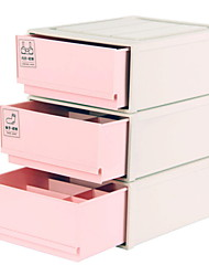 abordables -CLORURO DE POLIVINILO Rectángulo Nuevo diseño Casa Organización, 3pcs Cajas de Almacenamiento