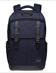 Недорогие -Универсальные Мешки Полиэстер рюкзак Молнии Черный / Темно-синий / Светло-серый
