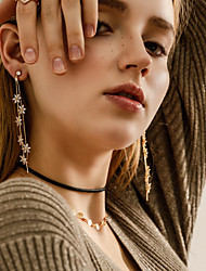 Långa örhängen