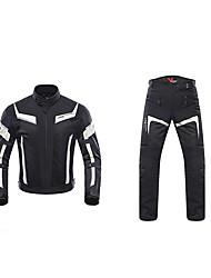 baratos -DUHAN 185 Roupa da motocicleta Conjunto de calças de jaquetaforHomens Poliéster Verão Resistente ao Desgaste / Antichoque / Respirável