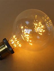 preiswerte -1pc 3 W 300 lm E26 / E27 LED Glühlampen G125 45 LED-Perlen SMD Dekorativ / sternenklar Warmes Gelb 85-265 V