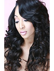 cheap -Peruvian Hair Body Wave Natural Color Hair Weaves / Tea Party Favors / Costume Accessories 3 Bundles with Closure 8-20 inch Human Hair Weaves 4x4 Closure Soft / New Arrival / Hot Sale Natural Color