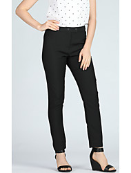 cheap -Women's Basic / Street chic Suits Pants - Solid Colored