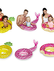 cheap -Pineapple Inflatable Pool Floats PVC Durable, Inflatable Swimming / Water Sports for Kids 94*61*14 cm