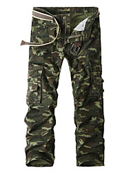 cheap -Men's Military Sweatpants Pants - Camouflage Black & Gray, Print / Sports