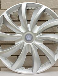 Недорогие -1 шт. Крышка ступицы 14 inch Деловые пластик Колпаки на колеса Назначение Volkswagen Polo / Jetta / 3000 Все года