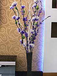 baratos -Flores artificiais 1 Ramo Clássico Moderno / Contemporâneo / Estilo simples Flores eternas / Vaso Flor de Chão
