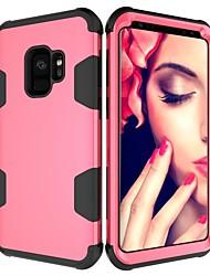 ieftine -Maska Pentru Samsung Galaxy S9 Plus / S9 Anti Șoc Carcasă Telefon Mată Greu PC pentru S9 / S9 Plus / S8 Plus
