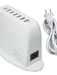 Недорогие -Зарядное устройство USB Kmoso 7 Настольная зарядная станция С быстрой зарядкой 2.0 Стандарт Австралии Адаптер зарядки