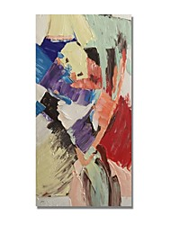 cheap -STYLEDECOR Modern Hand Painted Abstract The Combination of Color Blocks on Canvas Oil Painting for Wall Art