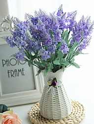 cheap -Artificial Flowers 3 Branch Classic Modern / Contemporary / Simple Style Lavender / Eternal Flower Tabletop Flower