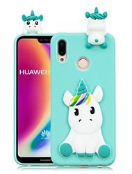 billiga -fodral Till Huawei P20 Pro / P20 lite GDS (Gör det själv) Skal Enhörnings Mjukt TPU för Huawei P20 / Huawei P20 Pro / Huawei P20 lite / P10 Lite / P10