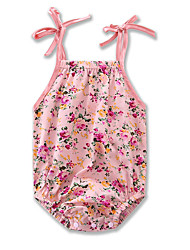 cheap -Baby Girls' Floral / Print Sleeveless Bodysuit