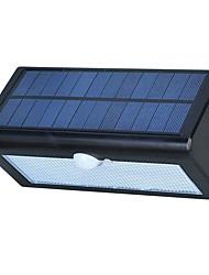 Недорогие -1шт 3 W Свет газонные Водонепроницаемый / Работает от солнечной энергии / Инфракрасный датчик Белый 3.7 V Уличное освещение 38 Светодиодные бусины