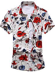 cheap -men's shirt - floral shirt collar