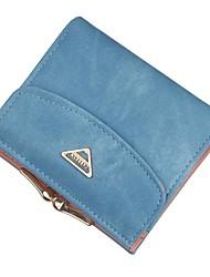 cheap -Women's Bags Canvas / PU(Polyurethane) Wallet Zipper Blushing Pink / Purple / Light Gray